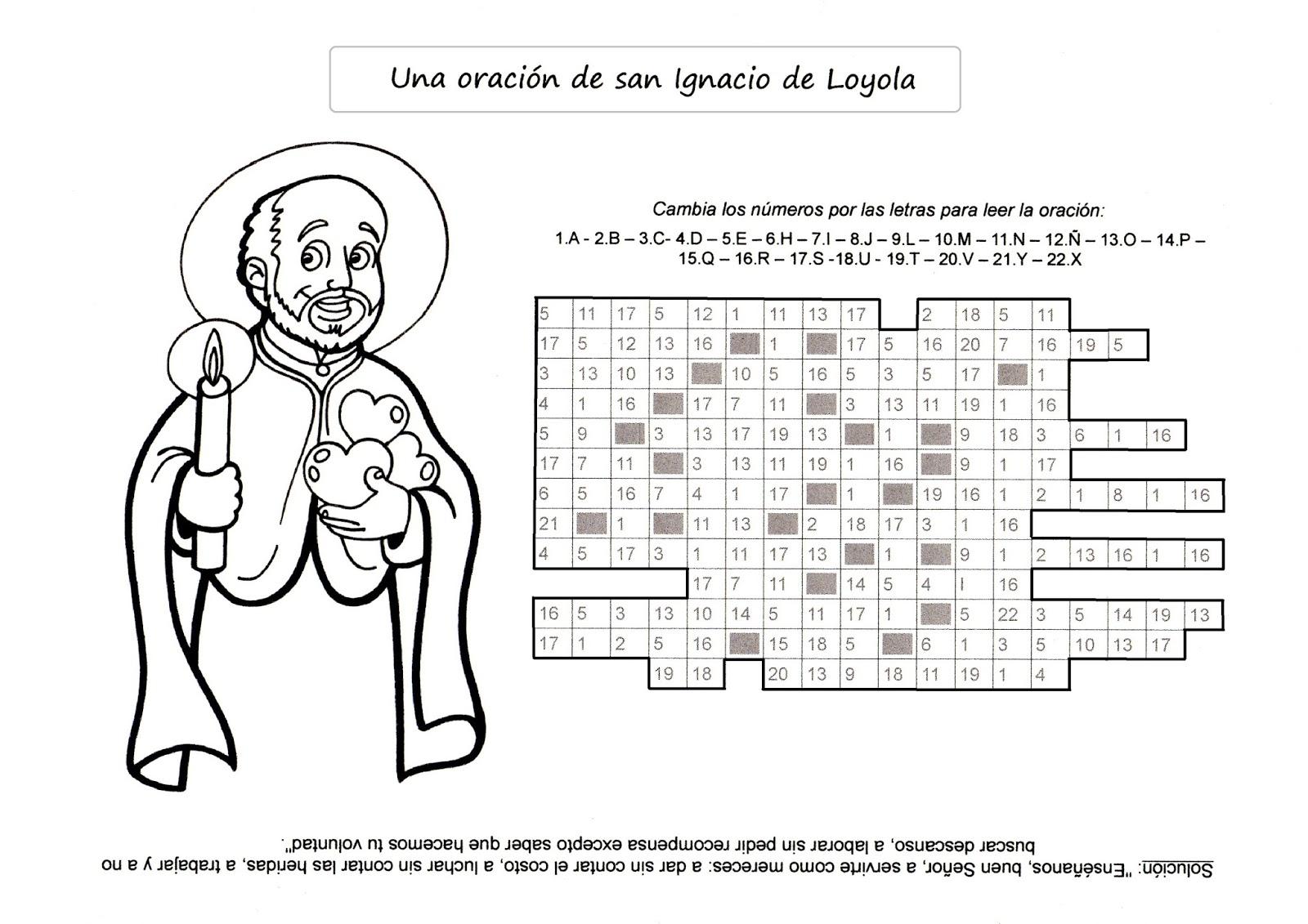 La Catequesis (El blog de Sandra): Recursos Catequesis San Ignacio ...