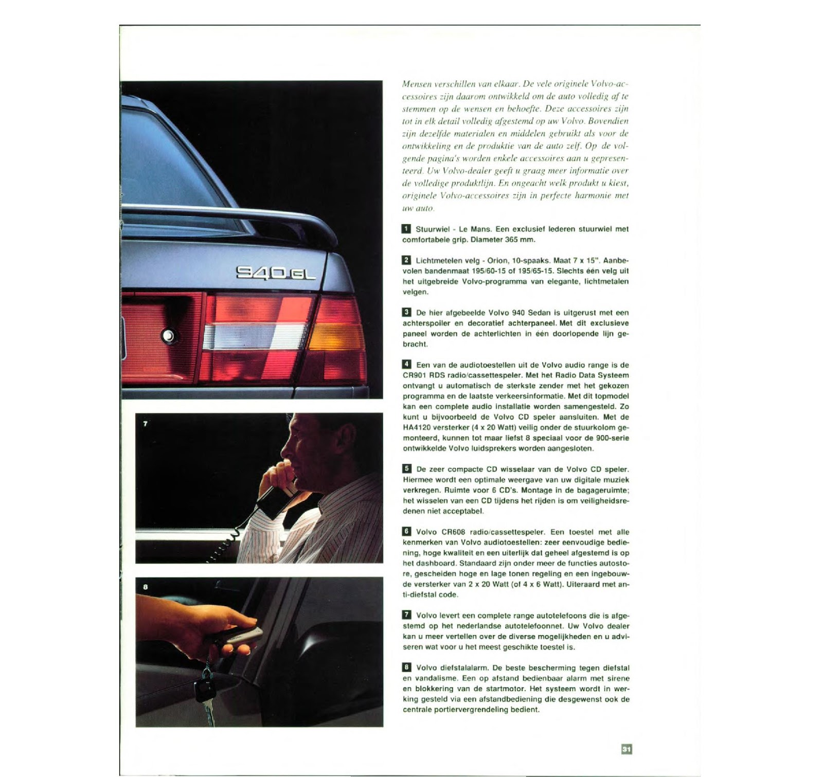 My World Of Volvo 940 Brochure Nl 93 960 Transmission Diagram Dutch Sales 1993