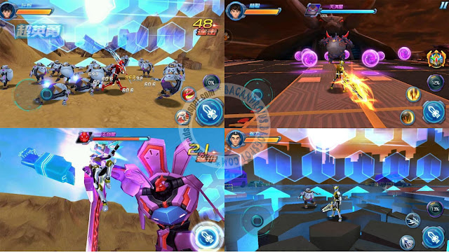 power ranger Animal king 3 Apk Full 83MB