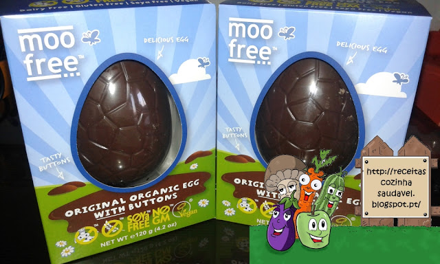 ovos de chocolate biológicos