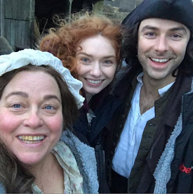 Aidan Turner, Eleanor Tomlinson, Beatie Edney