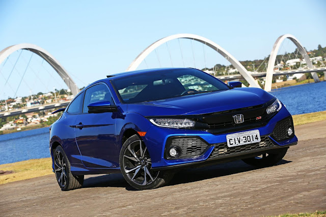 Honda Civic Si Brilliant Sporty Blue Metallic - Ponte JK