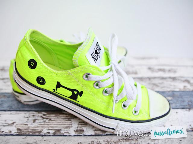Probeplotten für Fusselfreies - Schuhe @frauvau.blogspot.de