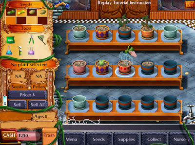 Plant Tycoon Game Screenshots 2003