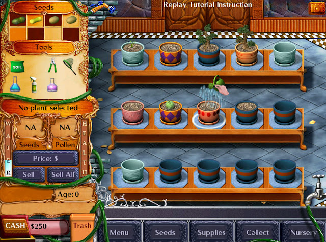 Watering the Plants screenshot | Plant Tycoon