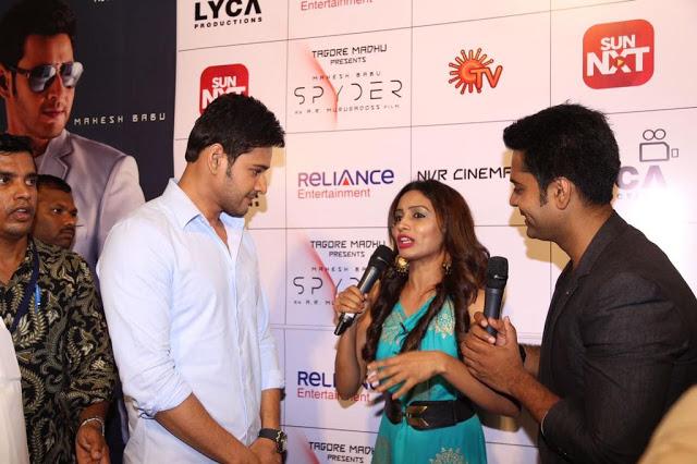 Spyder Movie Audio Launch In Chennai Photos