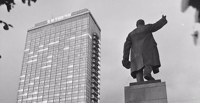 памятник Ленина в Риге