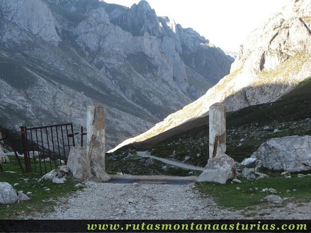 Ruta Canal Grajas y Covarones Cortes: Límite provincial