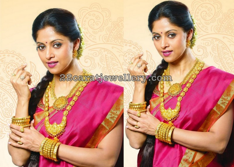 South Indian Bridal Jewellery 22k Gold Jewellery Designs
