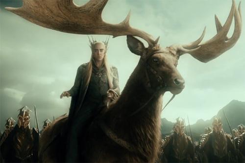 まるでシシガミ??森の王様ヘラジカかがでかすぎる【n】 もののけ姫 ムース 森のエルフの王 スランドゥイル エルク