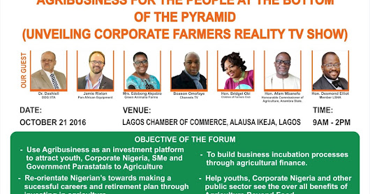 Stakeholders Forum on Agribusiness