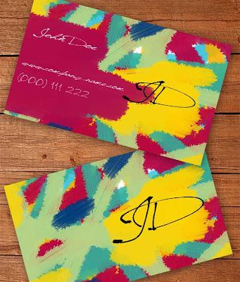 plantillas de tarjetas personales gratuitos