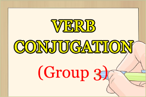 Verb Conjugation Group 3 in Japanese