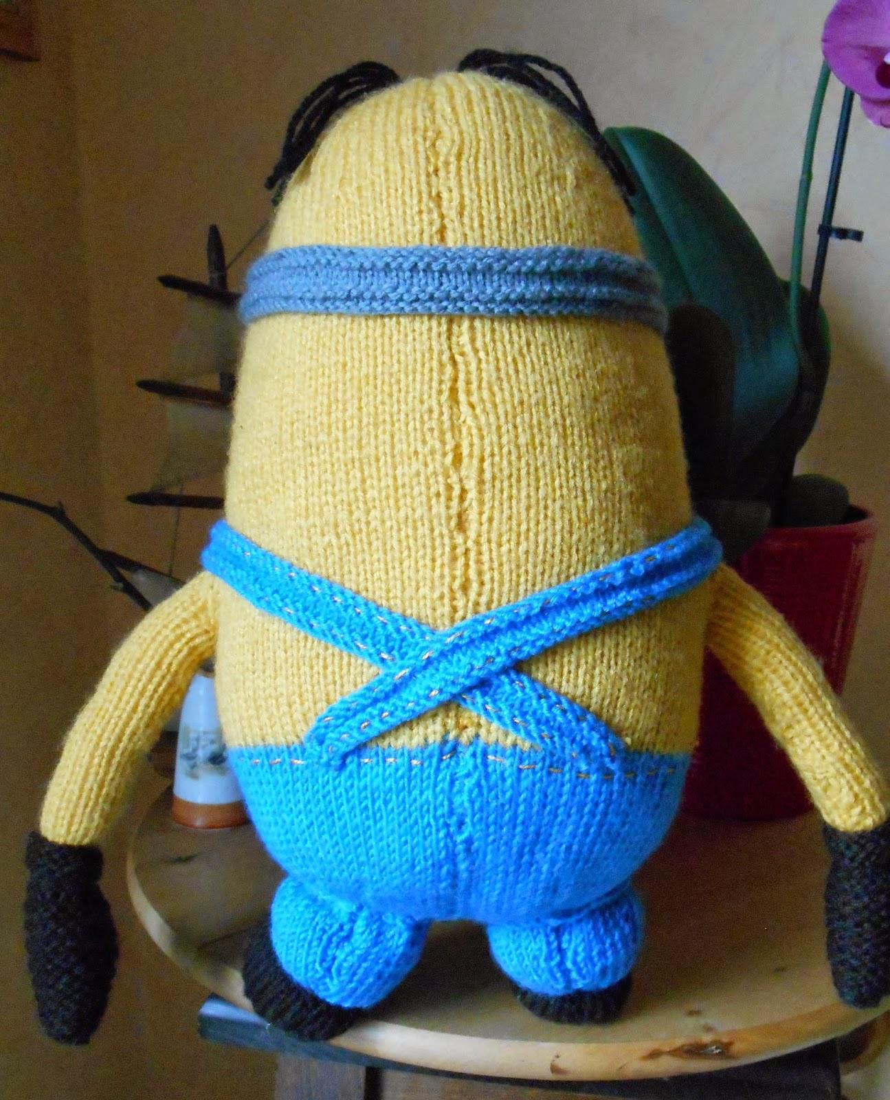 patron tricot minion