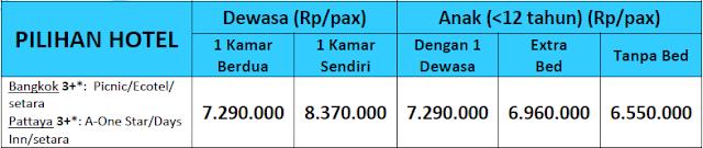 harga paket wisata bangkok pattaya, paket liburan surabaya bangkok, biaya paket wisata ke bangkok 2016,
