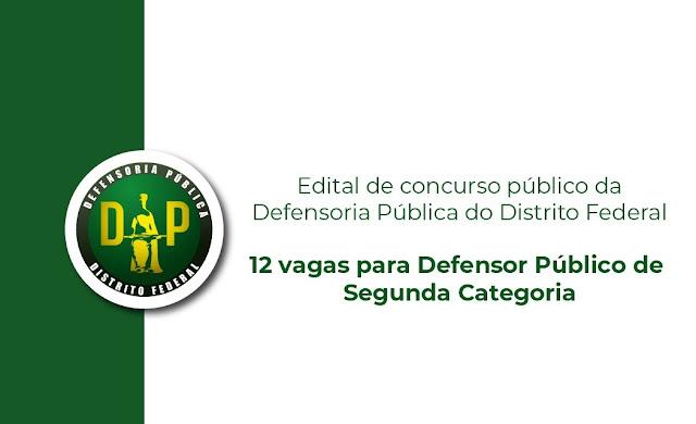 DP-DF divulga edital de concurso com 12 vagas