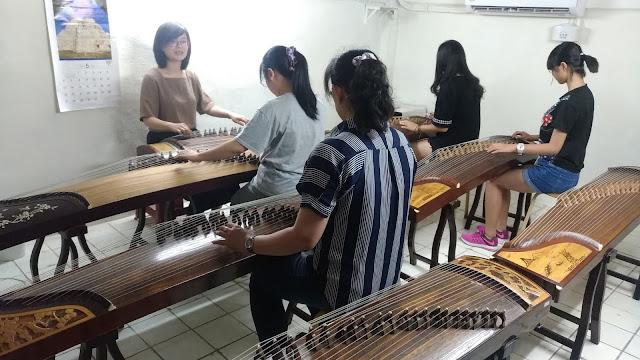 台北古箏團體班