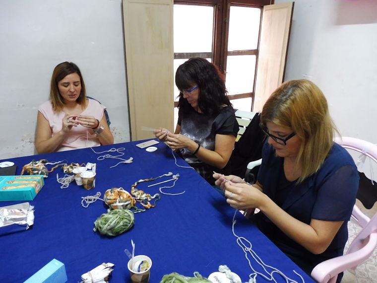PUNTXET Crónica de mi primer taller de crochet en Magenta #ganchillo #crochet #handmade #DIY #talleres