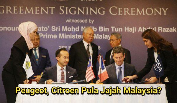 Peugeot, Citroen Pula Jajah Malaysia?