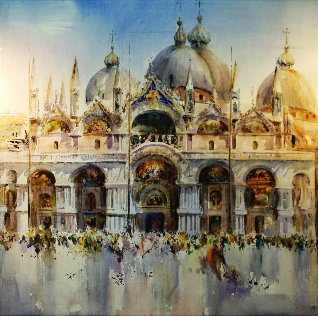 Laurentino Marti, 1946 ~ Watercolor painter | Tutt'Art ...