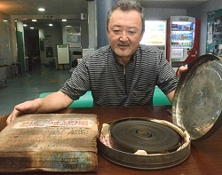 旧飯田長姫高校選抜高校野球優勝フィルム