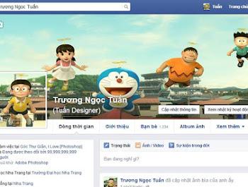Hướng dẫn cover ảnh bìa khớp với avatar bằng photoshop