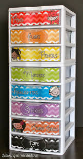 Reading center storage drawers for guided reading centers.