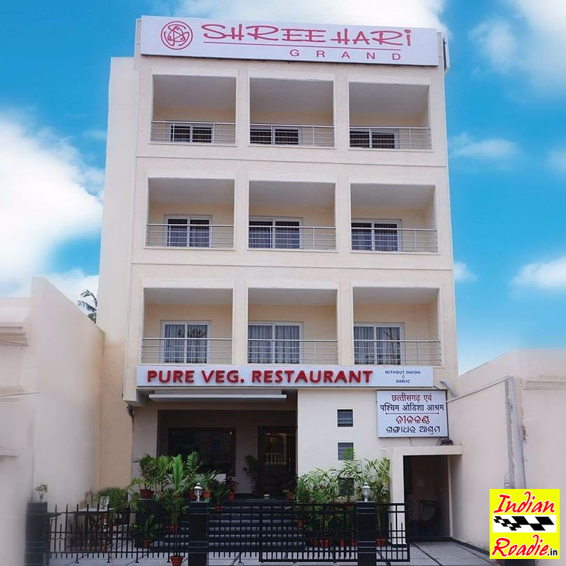 Indian roadie hotel shreehari grand near jagannath for Independent hotels near me