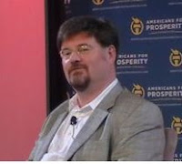 Jonah Goldberg Rick Sincere RightOnline Americans for Prosperity Las Vegas witches