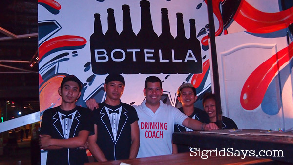 Botella bar Bacolod