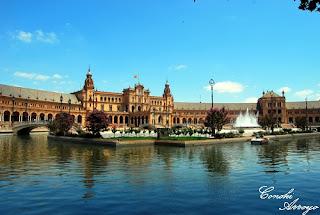 Plaza de España , concebida para la Exposición Iberoamericana de 1929
