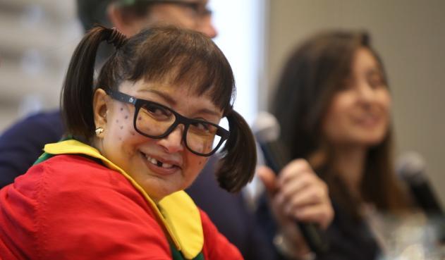 La actriz de 69 años interpreta a la niña traviesa de lentes desde 1971 / COLPRENSA