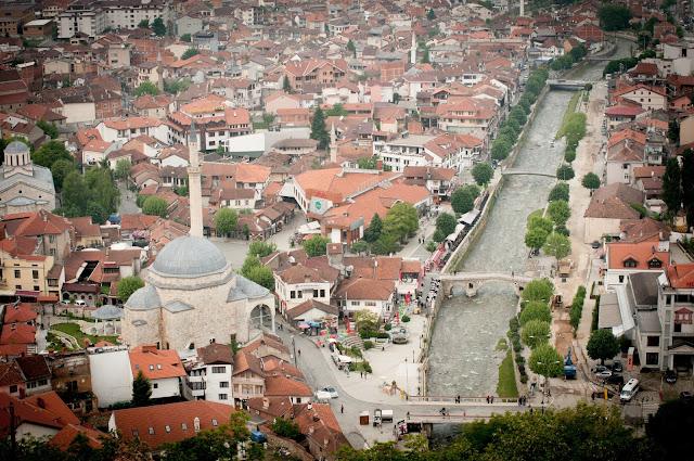 View over Prizren, Kosovo