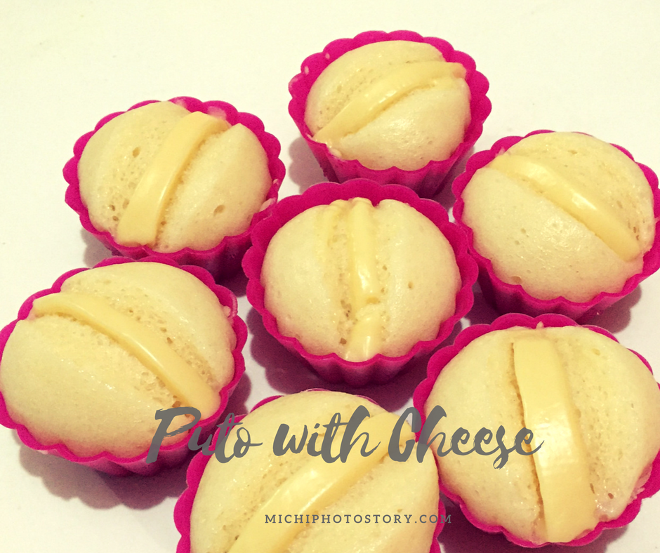 Michi photostory puto with cheese i love the result of puto with cheese and i will definitely use hotcake mix again next time ill add salted egg ccuart Images