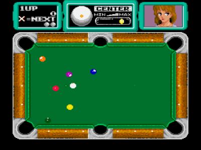 街機大型電玩:撞球美女+作弊碼金手指(無限時間、總分),消磨時間的桌球遊戲!