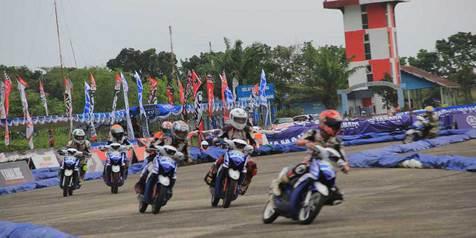 YCR Padang Didominasi Pebalap Lokal