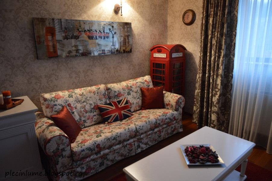 Apartamentul Londra din pensiunea Seven Olanesti