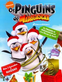 Os Pinguins de Madagascar : Missão de Natal Dublado