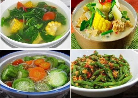 Kumpulan Resep Masakan Sayur