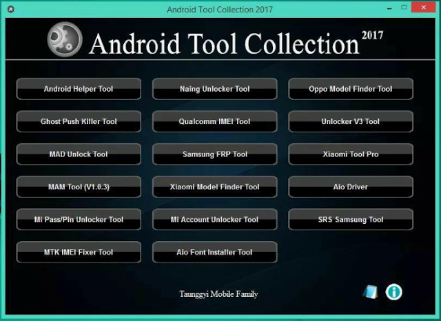 TMP Android Tool Collection 2017 Free Download