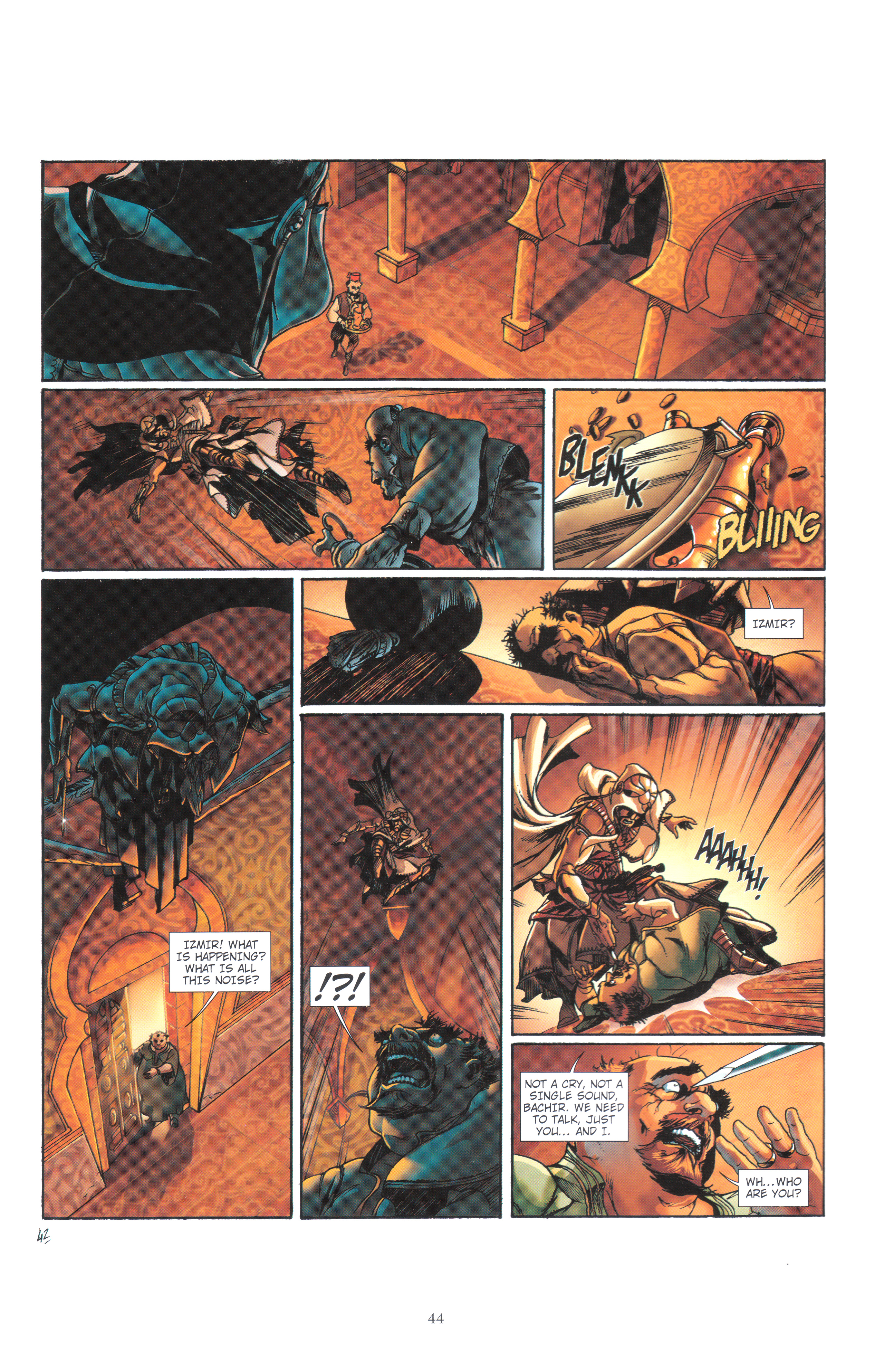 Read online Assassin's Creed (2012) comic -  Issue #4 - 44