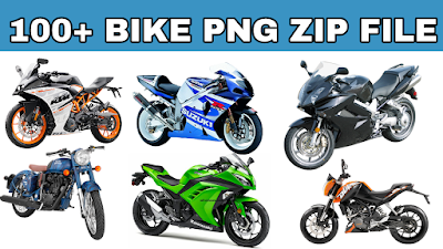 100+ BIKE PNG ZIP FILE