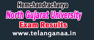 Hemchandracharya North Gujarat University LLB Exam Results