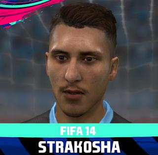 FIFA 14 Faces Thomas Strakosha by Rale