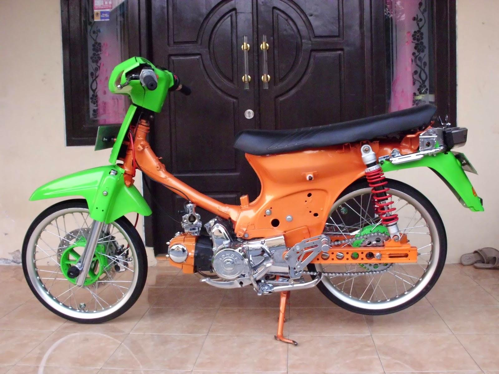 100 Gambar Motor Drag Honda Grand Terupdate Kewak Motor