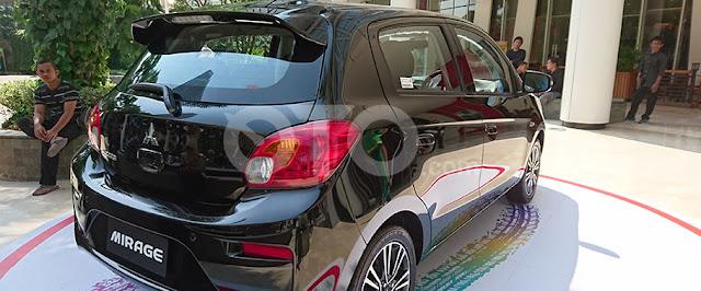 Mitsubishi New Mirage - Rear