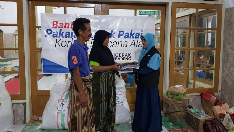 Gerak Bareng Bantu Korban Banjir Cirebon