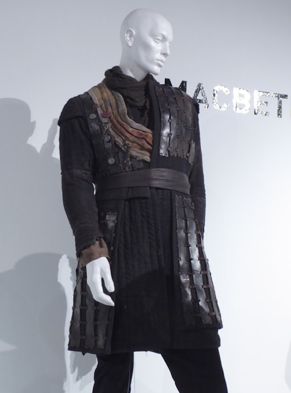 Michael Fassbender Macbeth battle costume