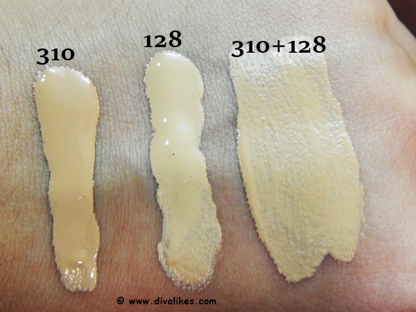 Maybelline Fit Me Matte + Poreless Foundation Swatch