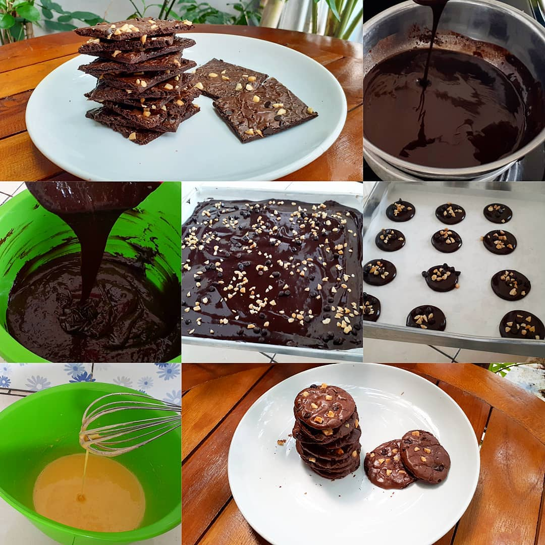 Brownies Cookies Renyah Plus Nyoklat Abis Coklat Lovers Wajib Coba Modern Id